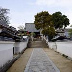 戸川家の菩提寺、盛隆寺。