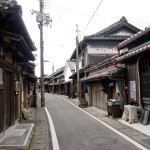 藩政時代の面影を残す湯浅の伝統的建造物群保存地区。