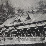 水害前の壮麗な社殿。